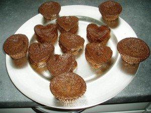 muffins à la danette dans les gâteaux muffins-300x225